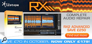 Izotope RX2 special offer