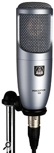 The AKG Perception 100 is cheaper than the 200 but doesn't have a pad or low-cut filter.