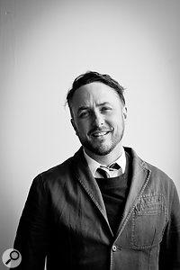 LANDR co-founder Justin Evans.