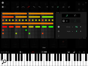 Layr's arpeggiator is a very clever design and hugely creative.