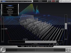 3D Wavetable Display.