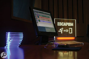 Pro Tools remains the main recording and writing tool in Massive Attack's setup.