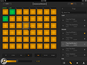 Audio Import in Novation's Launchpad app