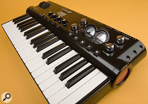 The lines between audio interface and other studio gear are becoming increasingly blurred, as with the Line 6 Toneport KB37, which is a combined interface and MIDI keyboard that's bundled with amp modelling software.