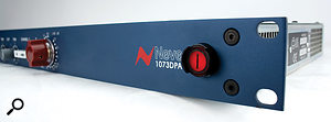 One of AMS Neve's own takes on the classic 1073 preamp design, the Neve 1073 DPA.