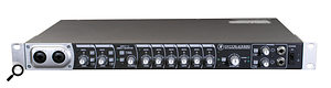 <strong>Firewire-based Mackie Onyx Blackbird recording interface: </strong>16-in/16-out Firewire-based Onyx Blackbird recording interface from Mackie.