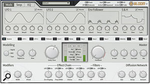 FXpansion's creative delay and diffusion plug-in, Bloom