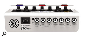 The Amp 1 sports an impressive array of inputs and outputs for such a  small device.