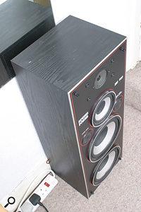 Mark Vidler's monitoring system: strictly hi-fi.