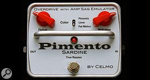 Celmo Pimento overdrive pedal.