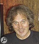 Leckie at Mushroom Studios, Vancouver, 1990.