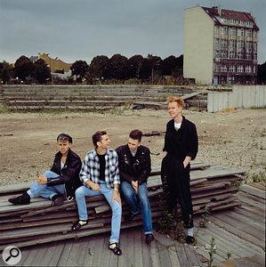 Depeche Mode relaxing in Berlin.
