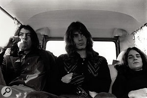 'Sitting in the back of a car...': the three-piece Big Star line-up credited on Radio City featured (from left) Andy Hummel, Jody Stephens and Alex Chilton.