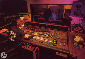 Basing Street Studios as it appeared in the late '70s: by this time, Studio One (left) and Studio Two (right) had both been refitted with MCI 500-series desks.