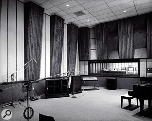 During the recording of #1 Record, Ardent Studios moved to new premises on Madison Avenue. This was the live room in Studio A.