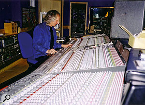 Vic Coppersmith-Heaven at the desk in 2006.