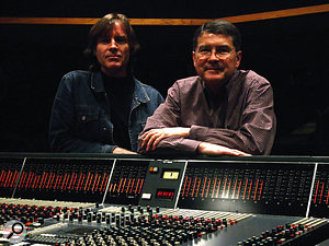 Jody Stephens (left) and John Fry today.