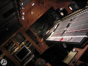 Carriage House Studios in Connecticut, where the Doolittle album was mixed.