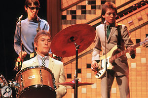 The Jam performing 'The Eton Rifles' on Top Of The Pops, November 1979.