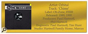 Classic Tracks: ORBITAL 'Chime'