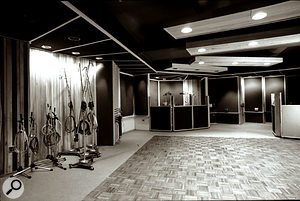 The live room at Sigma Sound Studios, NYC, where 'Pet Sematary' was tracked — Studio 5.