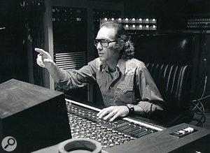 Producer Bones Howe in Wally Heider Studio 3, where 'Aquarius' was tracked.