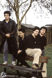 The Cure line-up that recorded Seventeen Seconds was together for barely a year. From left: Robert Smith, Simon Gallup, Matthieu Hartley and Lol Tolhurst.