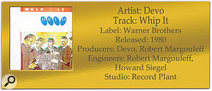 DEVO 'Whip It' | Classic Tracks