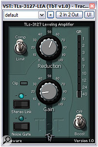 With its pretty simple interface, Tin Brooke Tales' freeware TLS 3127 LEA plug-in is a good starting point.