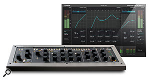 Softube Console 1 hybrid hardware/software mixing tool