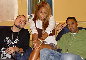 Cool & Dre with Christina Milian.