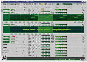 The Windows Multimedia Class Scheduler Service (MMCSS) is designed to give priority to multimedia applications, such as Giel Bremmers' MultitrackStudio (shown here), when requesting CPU resources. However, even when MMCSS is implemented correctly, aspects of technology such as Windows Vista's Aero still have higher priority for access to the CPU.
