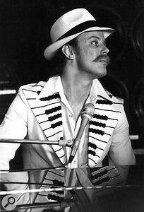 Mott The Hoople keyboardist Morgan Fisher: another Davolisint adopter.