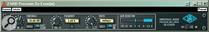 Dedicated de‑essing plug‑ins like Universal Audio's Precision De-esser (left) may be all you need, but attenuating each sibilant manually using automation (above) allows you to be more selective.