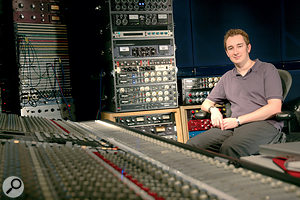 Robert Orton, who used extensive automation of delays on Lady Gaga's vocal for the smash hit 'Let's Dance'.