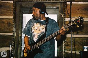 Fine Arts Militia bassist and Zenstone label owner Bryan Hardgroove.