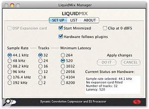 Using The Liquid Mix With Digital Performer