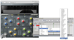 Dynamic audio treatments can be set up by writing a few plug-in automation events in the Sequence editor.