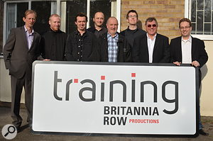The Britannia Row Productions team