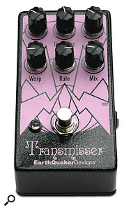EarthQuaker Devices Transmisser Resonating Reverb Effects Pedal.