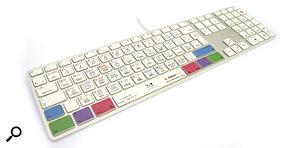 New Logic Pro X shortcut keyboard from Editors Keys