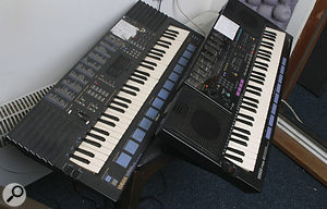 The Yamaha Portasound PSS680 and PSS51 keyboards, so fundamental to the John Shuttleworth sound.