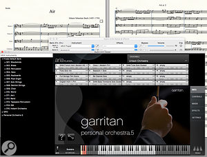 The ARIA Player, and the selection of Garritan instruments included, have been updated for Finale 25.