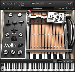 Mello virtual instrument from UVI