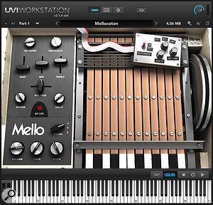 Mello virtual instrument from UVI