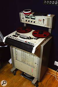 Most of the recordings made at Fortress were tracked to an Otari reel-to-reel recorder before being transferred to Pro Tools.
