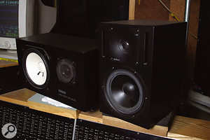 Fortress's Yamaha NS10 and Genelec 1030A monitors: Gareth Parton says he prefers the latter for most mixing tasks.