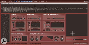 Native Instruments Reaktor offers extremely powerful granular synthesis facilities, as showcased in its Travelizer instrument.