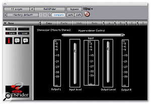 DUY's Redspider plug-in was used to create a wider stereo image from a mono cymbal sound on 'Unfaithful'.