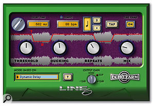 Line 6's Echo Farm was used to generate eighth-note ducking delays on the 'Irreplaceable' lead vocal, and quarter-note delays on the backing vocals.